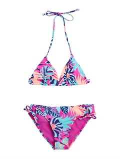 BGD7Girls 7- 4 Peaceful Dreamer Criss Cross Tankini Set Swimsuit by Roxy - FRT1