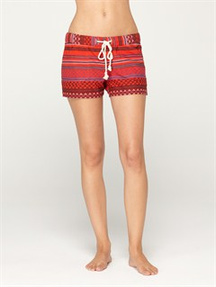 RPH4Blaze Embroidered Cut Offs Jean Shorts by Roxy - FRT1