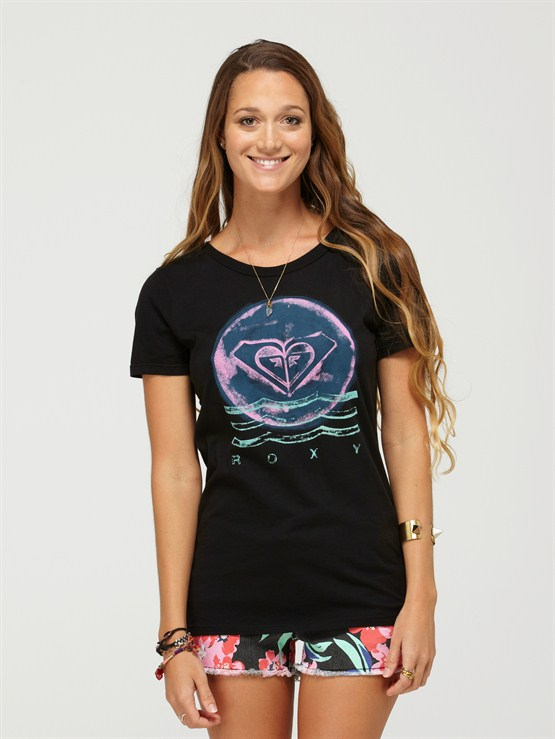 BLKAwesome Surf Tee by Roxy - FRT1