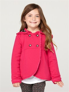 MPB0Girls 2-6 Back Bay Peacoat by Roxy - FRT1