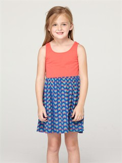 PQM6Girls 2-6 Bundled Up Dress by Roxy - FRT1