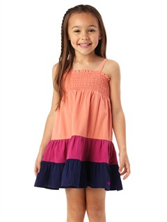 MGE0Girls 2-6 Block Party Dress by Roxy - FRT1