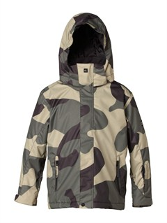 GZA1Mission  0K Youth Print Jacket by Quiksilver - FRT1