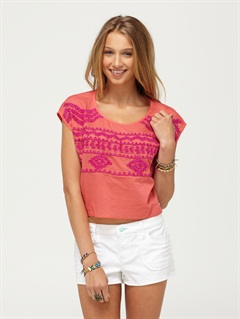 PPEWestern Rose Top by Roxy - FRT1