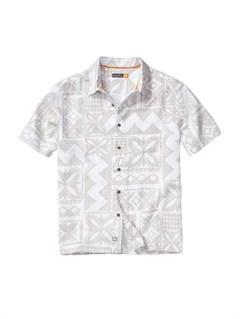 WBB0Men s Baracoa Coast Short Sleeve Shirt by Quiksilver - FRT1