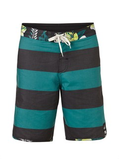 "BQJ3Yoke Checker  8"" Boardshorts by Quiksilver - FRT1"