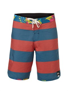 "BSG3Yoke Checker  8"" Boardshorts by Quiksilver - FRT1"