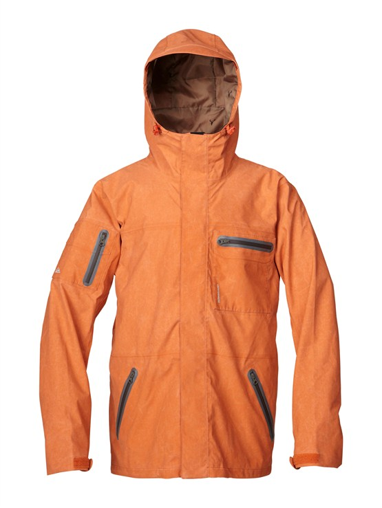 CNH0Over And Out Gore-Tex Pro Shell Jacket by Quiksilver - FRT1