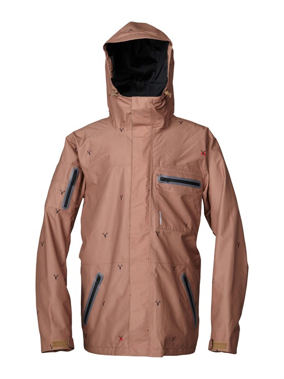 CNK6Over And Out Gore-Tex Pro Shell Jacket by Quiksilver - FRT1