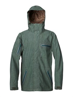 GZA0Lone Pine 20K Insulated Jacket by Quiksilver - FRT1