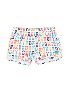 WBB7Girls 7- 4 Little Beauty Endless Sun Boardshorts by Roxy - FRT1