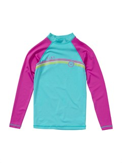 BJR0Girls 7- 4 Stir It Up SS Rashguard by Roxy - FRT1