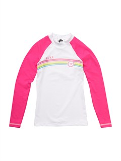 MLR0Girls 7- 4 Roxy Border Rashguard by Roxy - FRT1