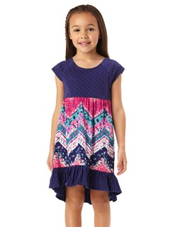 MLW3Girls 2-6 Block Party Dress by Roxy - FRT1
