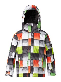 GNS1Mission  0K Youth Print Jacket by Quiksilver - FRT1