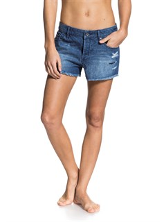 KTPWSmeaton Denim Print Shorts by Roxy - FRT1
