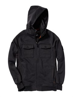 KVJ0PU Coated Front Zip Sup Jacket by Quiksilver - FRT1