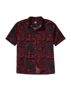 SGAMen s Aganoa Bay Short Sleeve Shirt by Quiksilver - FRT1