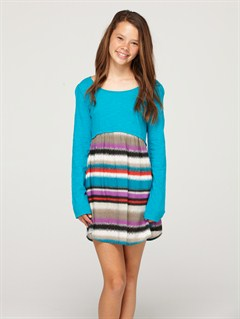 BNY3Girls 7- 4 Beach Knoll Dress by Roxy - FRT1