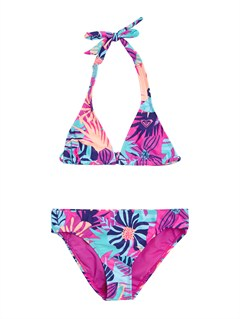 BGD7Girls 7- 4 Wild and Free Tiki Triangle Bikini Set by Roxy - FRT1