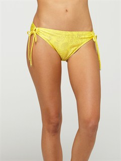 YDGSurf Essentials 70s Lowrider Side Tie Bikini Bottoms by Roxy - FRT1