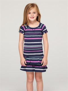 BTN3Girls 2-6 Block Party Dress by Roxy - FRT1