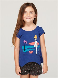PQM0Girls 2-6 Snow Plow Top by Roxy - FRT1