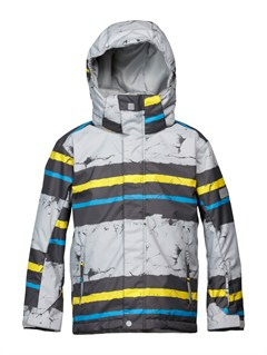 YJN1Mission  0K Youth Print Jacket by Quiksilver - FRT1