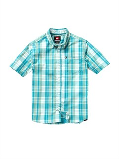 BLK0Boys 8- 6 Box Plaid Long Sleeve Shirt by Quiksilver - FRT1
