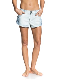 WCQWSmeaton Denim Print Shorts by Roxy - FRT1