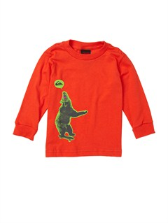RQF0Baby Damaged Long Sleeve T-Shirt by Quiksilver - FRT1