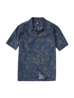 VIBMen s Aganoa Bay Short Sleeve Shirt by Quiksilver - FRT1