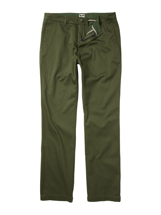 GQQ0Class Act Chino Pants  32  Inseam by Quiksilver - FRT1