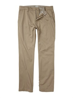 KHAClass Act Chino Pants  32  Inseam by Quiksilver - FRT1