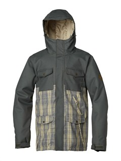TKJ0Mission  0K Insulated Jacket by Quiksilver - FRT1