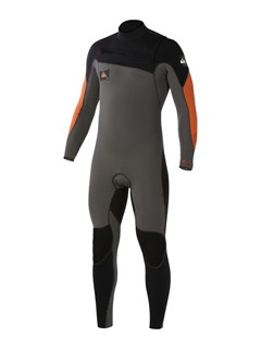 XKKNCypher 4/3 Chest Zip Wetsuit by Quiksilver - FRT1