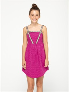MPF0Girls 7- 4 Cloudy Dream Dress by Roxy - FRT1