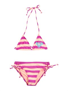 MNF4Heat & Surf Fixed Criss Cross Tri Set by Roxy - FRT1