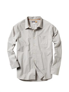 LBRMen s Back Bay Long Sleeve Shirt by Quiksilver - FRT1