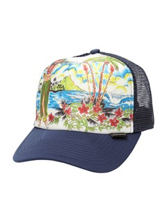 NVYBoardies Trucker Hat by Quiksilver - FRT1