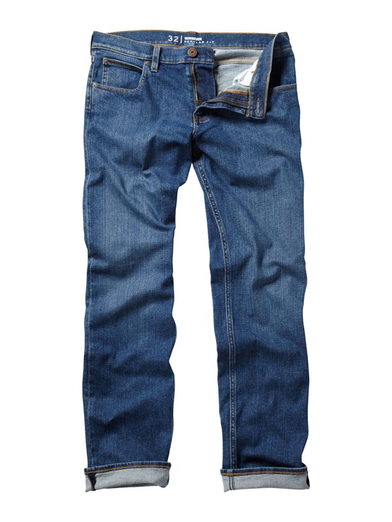 BQP0Distortion Jeans  32  Inseam by Quiksilver - FRT1