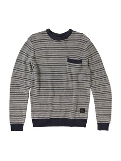 BST0Snit Stripe Sweater by Quiksilver - FRT1