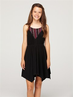 KVJ0Girls 7- 4 Beach Knoll Dress by Roxy - FRT1