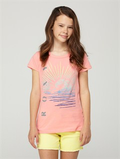 FLOGirls 7- 4 Bananas For Roxy Baby Tee by Roxy - FRT1