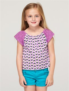 PKY6Girls 2-6 Autumn Breeze Criss Cross Halter Set by Roxy - FRT1