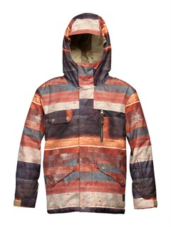 CNH2Mission  0K Youth Print Jacket by Quiksilver - FRT1