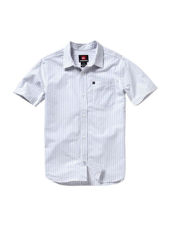 BND0Boys 8- 6 Haano Short Sleeve Shirt by Quiksilver - FRT1