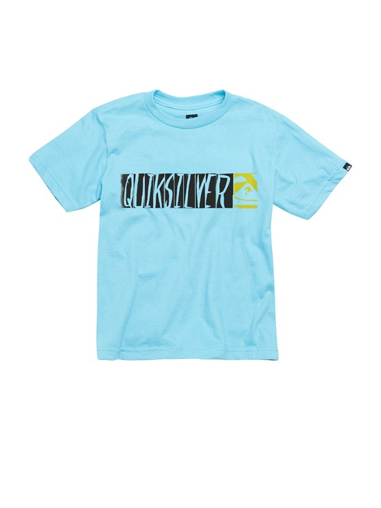 BHR0Boys 2-7 Crash Course T-Shirt by Quiksilver - FRT1