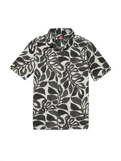 SKT0Men s Baracoa Coast Short Sleeve Shirt by Quiksilver - FRT1