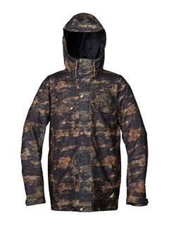 GZA2Travis Rice Polar Pillow  5K Jacket by Quiksilver - FRT1